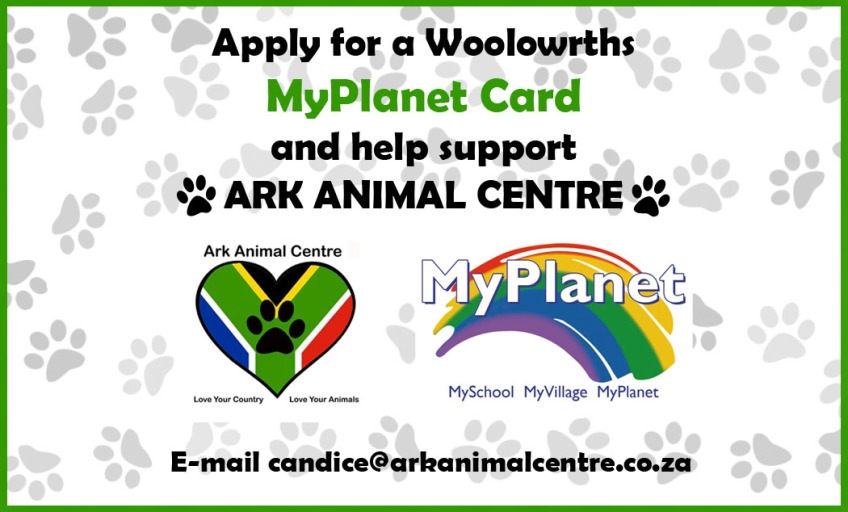 Woolworths MyPlanet Ark Poster apply support